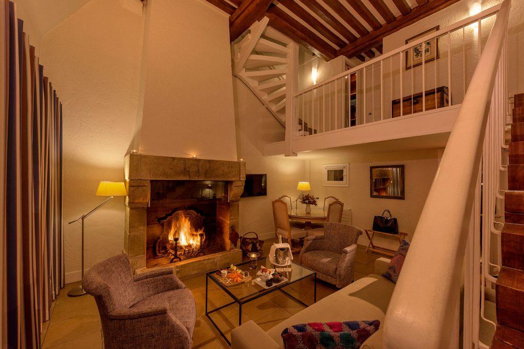 Hotel-Les-Manoirs-de-Tourgeville-Chambre-Triplex-(Deauville)